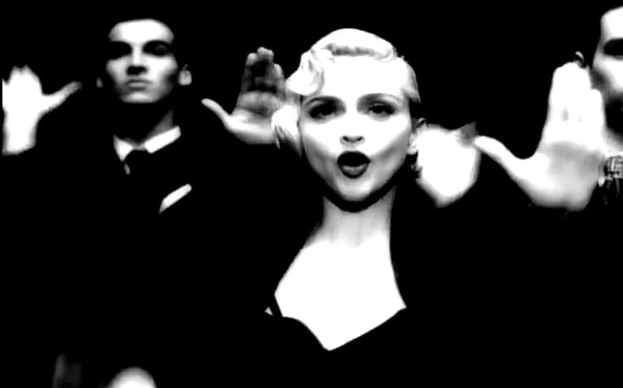"Madonna ""Vogue"" (1990)"