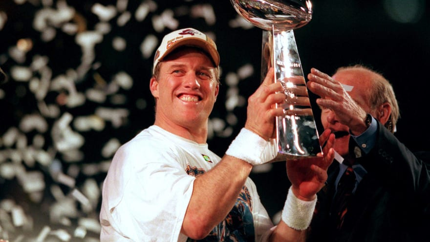 Who had the best final seasons in NFL history?