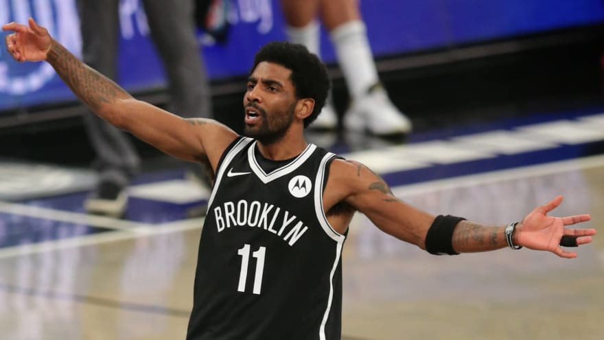 Nets not offering Irving extension amid vax standoff?