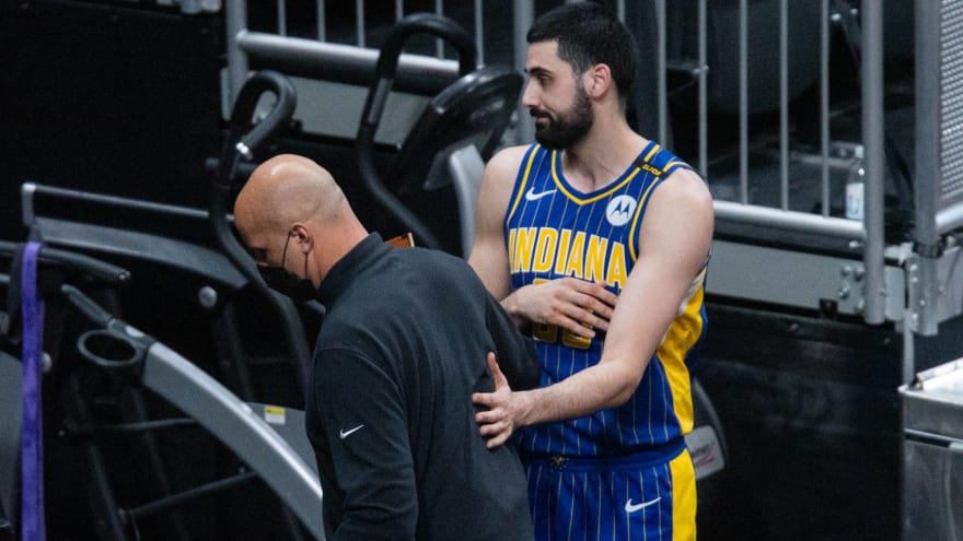 Pacers suspend Foster, fine Bitadze for verbal altercation