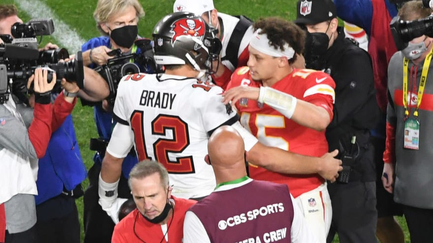 Twitter reacts to 'Madden' cover release with Mahomes, Brady