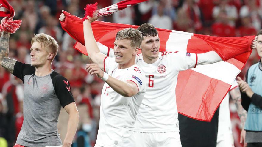 Denmark advances to Euro 2020 Round of 16