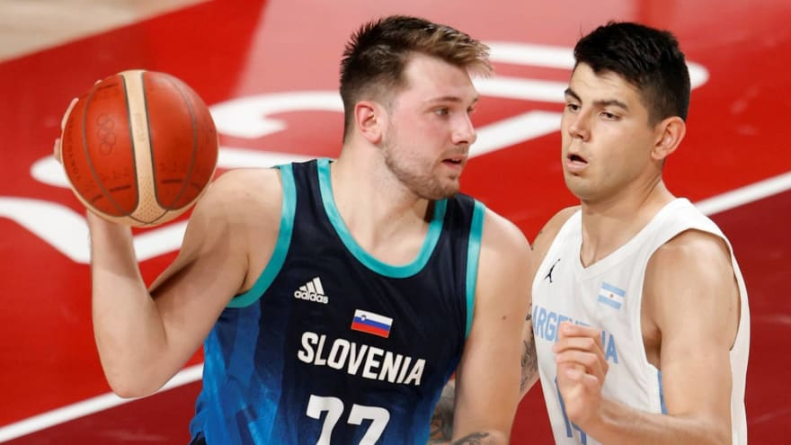 Luka Doncic scores 48 points in Olympic debut in Slovenia win
