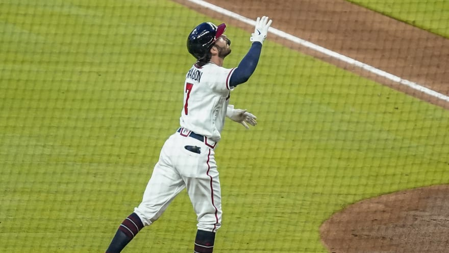 Dansby Swanson burning sage helps Braves break out of slump?