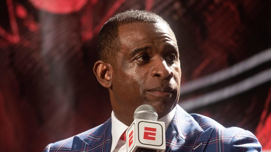 Deion Sanders walks out of press event after being called 'Deion'