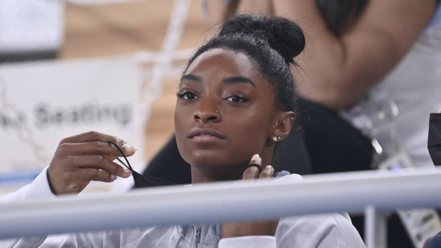 Simone Biles: Mind and body were not in sync at Olympics