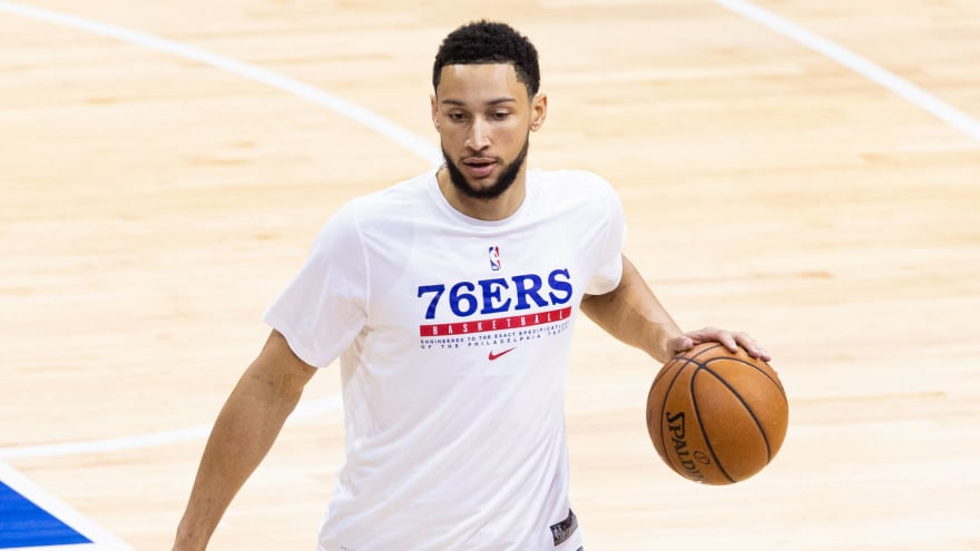 Now in Philly, Ben Simmons waiting to clear COVID protocol