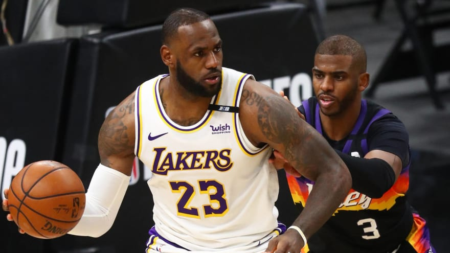 LeBron would 'absolutely' love to play with CP3