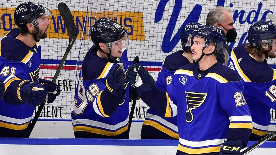 Blues open to moving some pending unrestricted free agents