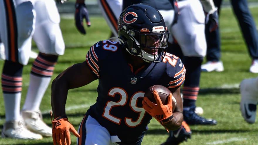 Bears' Tarik Cohen might not be ready for Week 1?