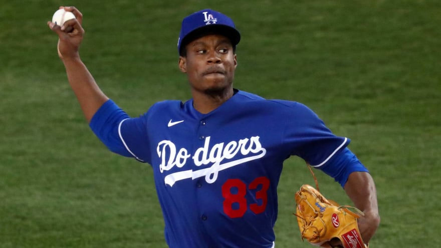 Dodgers to promote top pitching prospect Josiah Gray