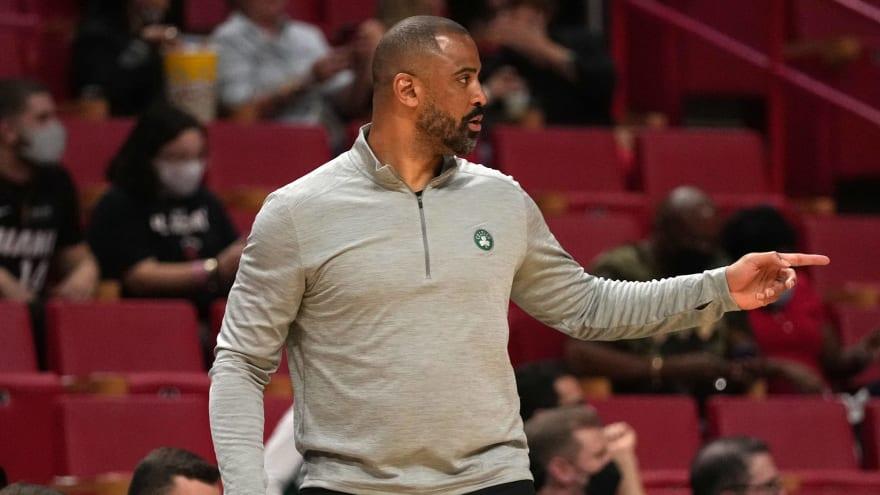 Celtics HC Ime Udoka already running tight ship