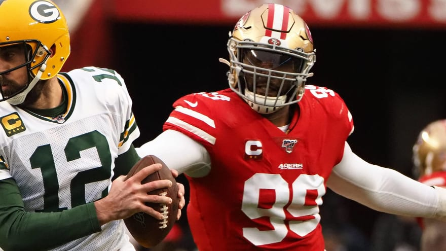 49ers trade star DL DeForest Buckner to Colts for first-round pick