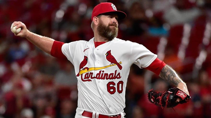 Cardinals place RHP Justin Miller on injured list