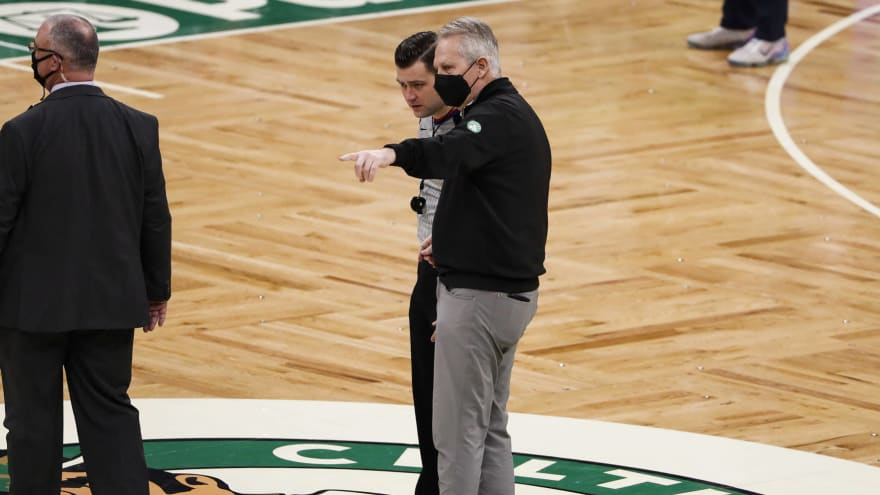 NBA players did not trust Celtics management during Ainge era?