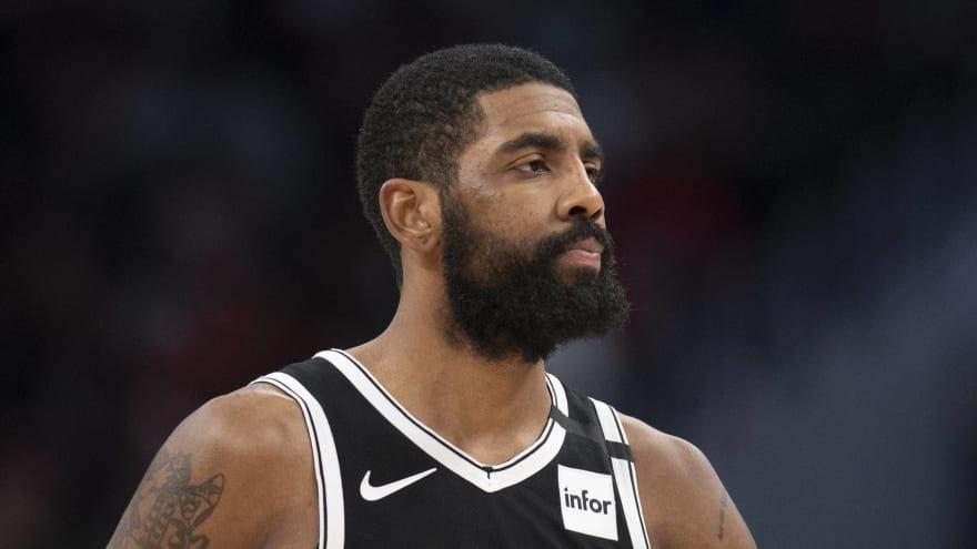 Nets All-Star Kyrie Irving addresses $25K fine