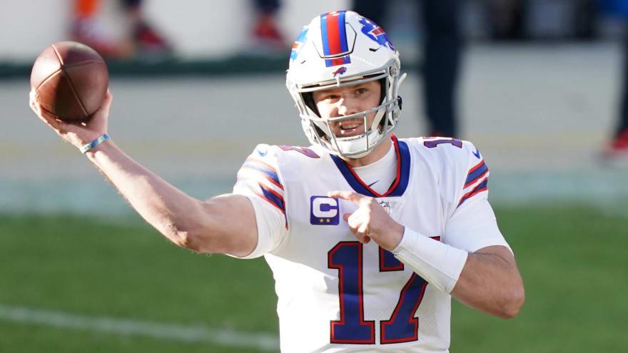 Josh Allen sets Bills record for passing yards in a season