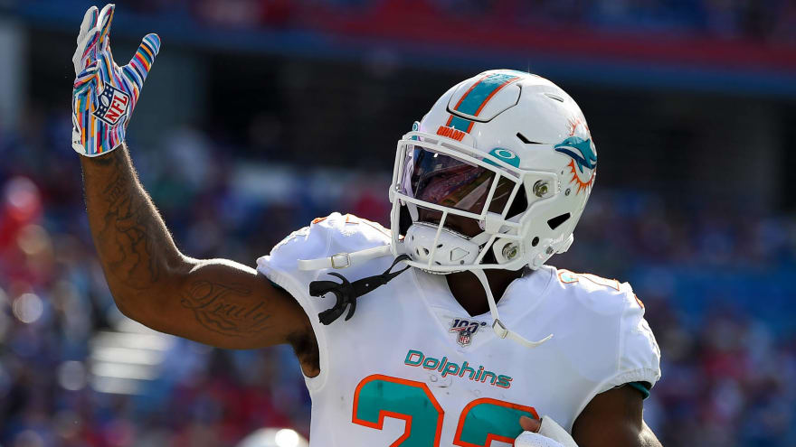 Aggravated battery charge dropped for ex-Dolphins RB Mark Walton