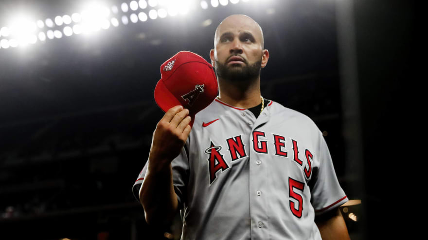 Albert Pujols, Dodgers agree to deal for rest of season
