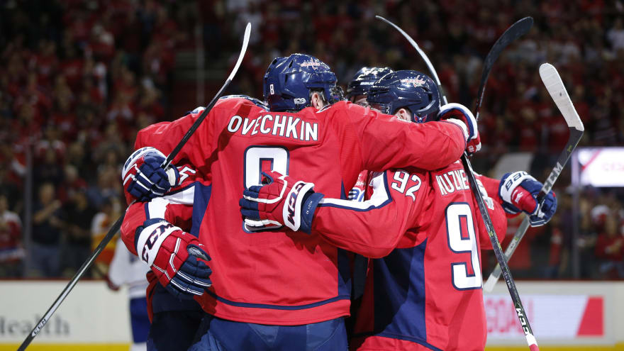 Alex Ovechkin starts Capitals' season off with a bang