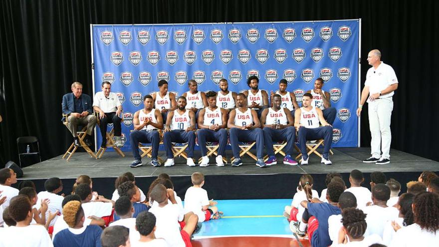 The '2016 Team USA men's basketball' quiz