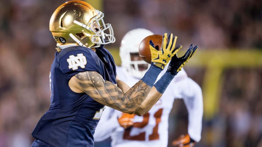 The 'Notre Dame Fighting first rounders' quiz