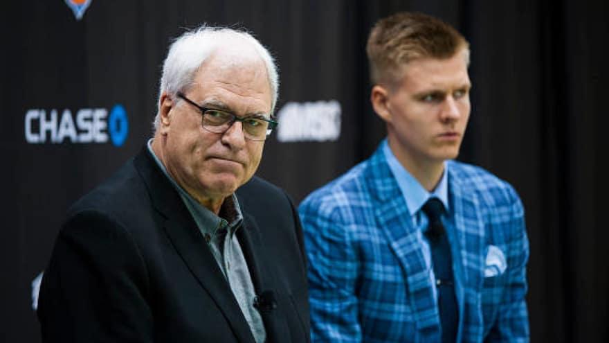 Phil Jackson advised Lakers to take Porzingis in the draft