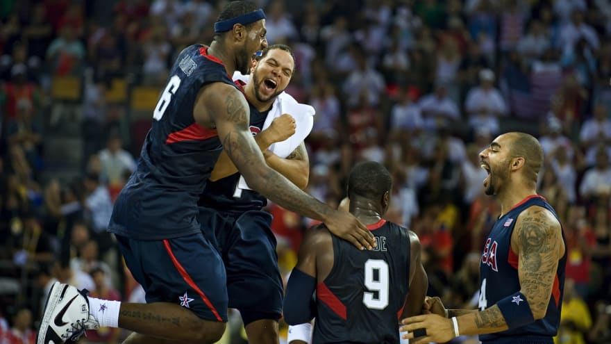 The '2008 Team USA men's basketball' quiz