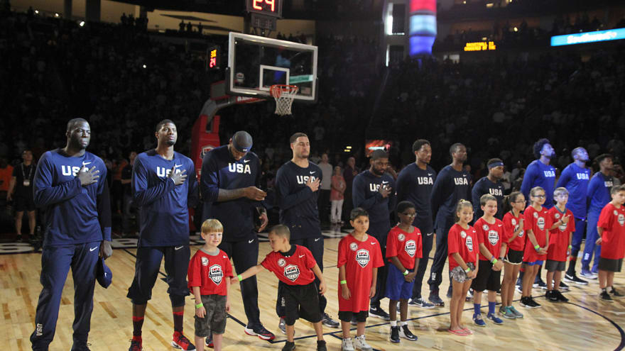 The 'Team USA Olympic basketball veterans' quiz