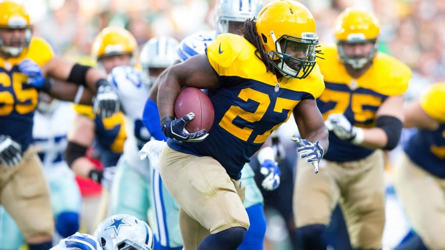 Eddie Lacy earns another $55,000 in weight bonus from