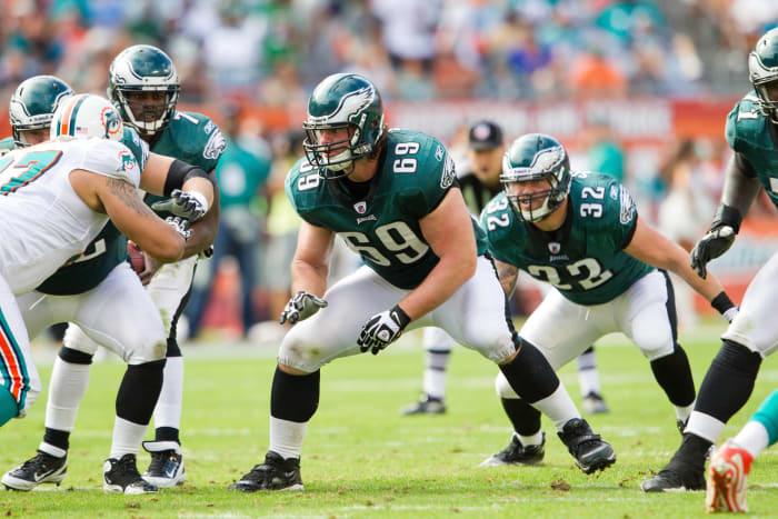 2011: Evan Mathis, Philadelphia Eagles