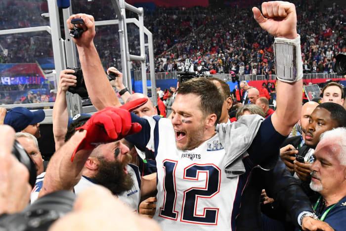 TIER 1 (HALL YES!): Tom Brady, New England Patriots