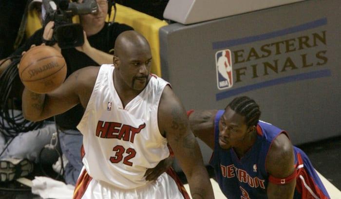 O'Neal é negociado com Miami