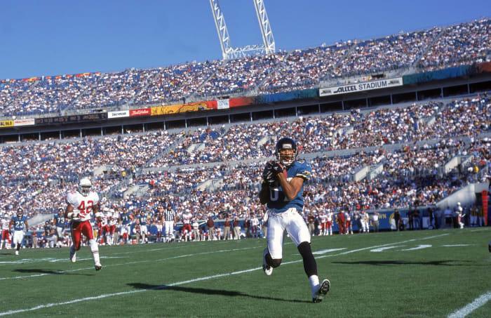 1996: Keenan McCardell, Jacksonville Jaguars