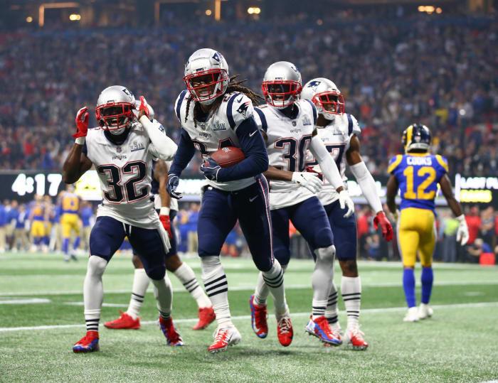 2017: Stephon Gilmore, New England Patriots