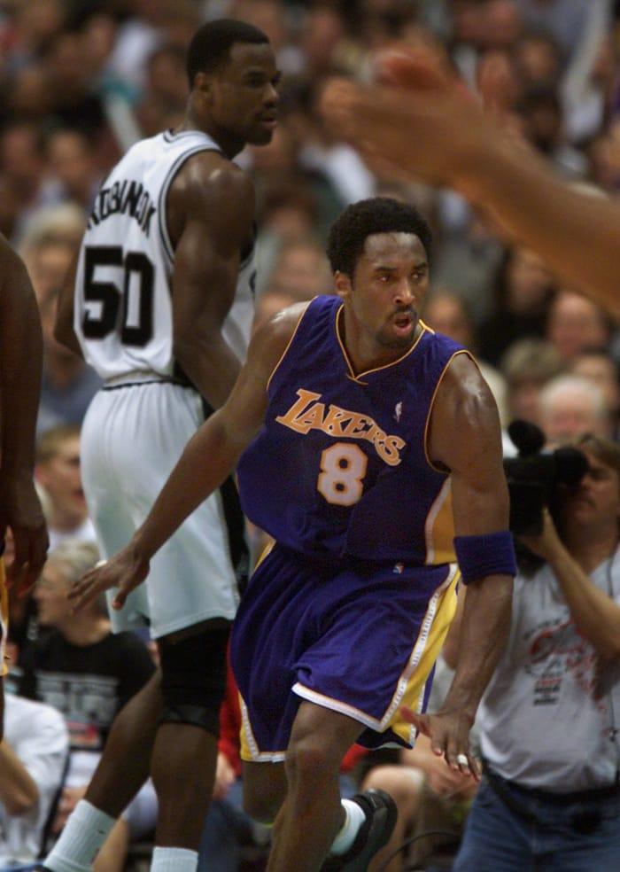 45 points, 10 rebounds vs. Spurs, Game 1, 2001 Western Conference Finals