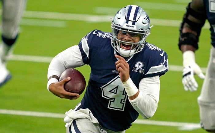 QB Dak Prescott | Ideal spot: Cowboys