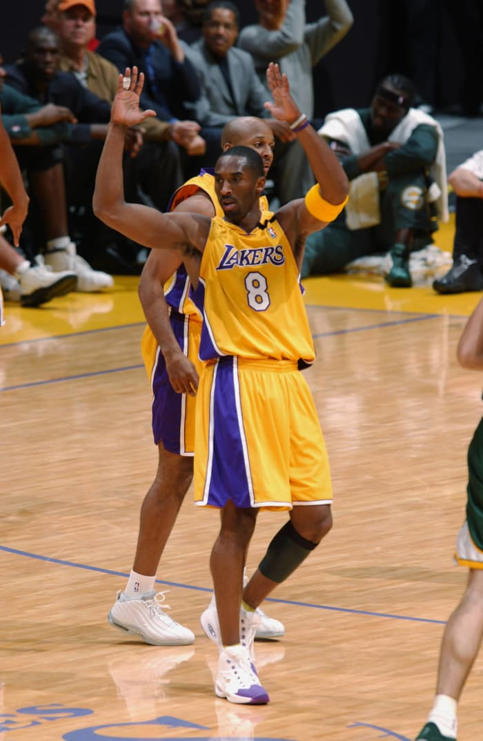 You're not the only one who can shoot threes, Ray