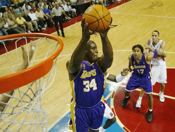 A superequipe de LA fica aquém do Pistons na temporada final de Shaq