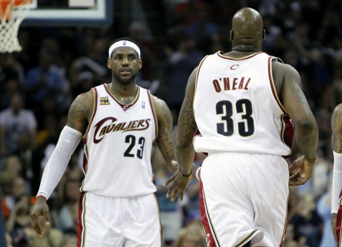 Shaq é negociado novamente, desta vez para Cleveland