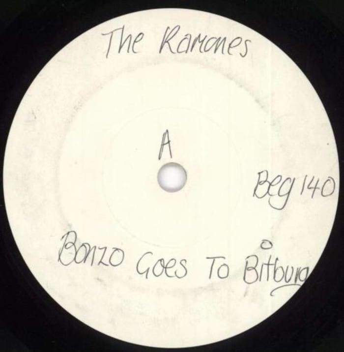 """""""Bonzo Goes to Bitburg,"""" Ramones (1985)"""