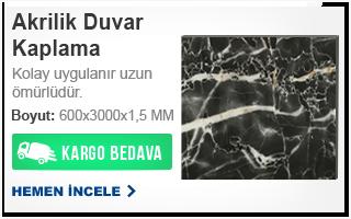 AKRİLİK DUVAR KAPLAMA