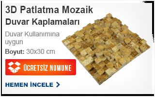3D PATLATMA MOZAİK