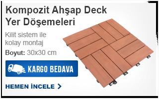Kompozit Ahşap Deck