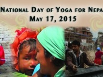 National Day of Yoga for Nepal to Help in Earthquake