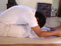 Seated Forward Bend (Paschimottanasana) Yoga Pose