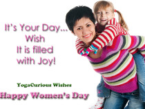 Happy Women's Day to all Women around the World
