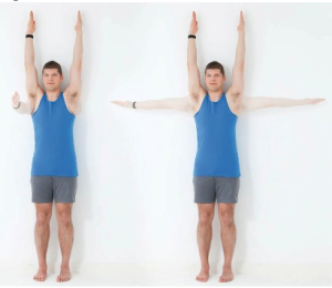 Urdhva hastasana yoga pose
