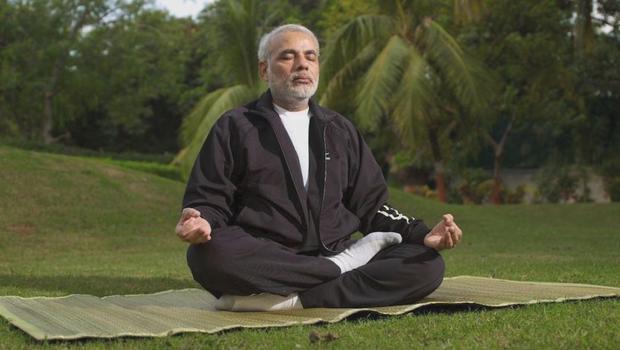 Yoga - Narendra modi