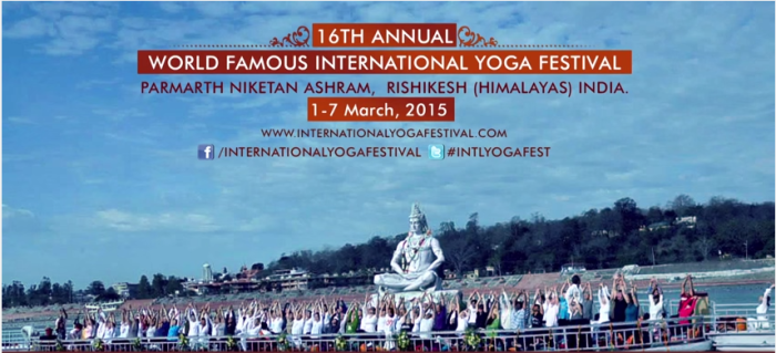 16th Annual International Yoga Festival 2015